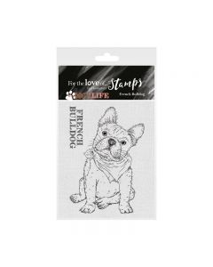 Hunkydory It's a Dog's Life Clear Stamp - French Bulldog