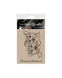 Hunkydory It's a Dog's Life Clear Stamp - German Shepherd