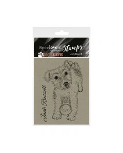 Hunkydory It's a Dog's Life Clear Stamp - Jack Russell