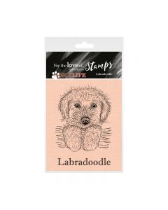 Hunkydory It's a Dog's Life Clear Stamp - Labradoodle