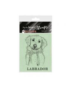 Hunkydory It's a Dog's Life Clear Stamp - Labrador/Retriever