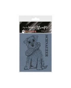 Hunkydory It's a Dog's Life Clear Stamp - Schnauzer