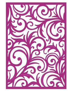 Gemini Create a Card Metal Die - Grande Swirls
