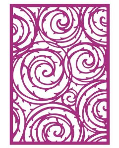 Gemini Create a Card Metal Die - Thorn Swirls
