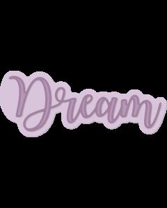 Gemini Expressions Metal Die - Dream