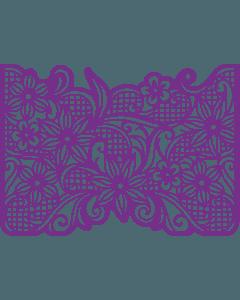 Gemini Create-a-Card Cut on Edge Metal Die - Floral Dreams