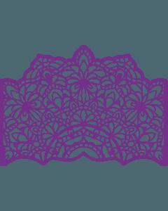 Gemini Create-a-Card Cut on Edge Metal Die - Mandala