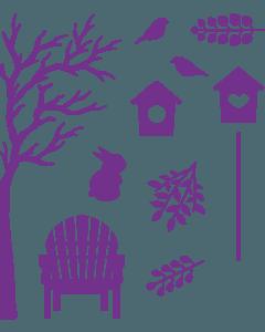 Gemini Elements Die - Garden of Seasons