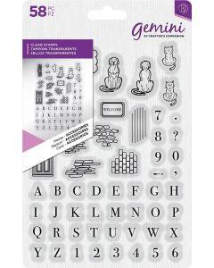 Gemini Clear Stamp - House Accessories