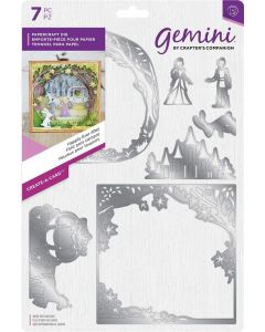 Gemini Create-a-Card Metal Die - Happily Ever After