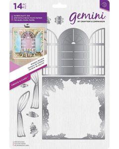 Gemini Create-a-Card Metal Die - Wisteria Window