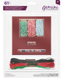 Gemini Cut 'n' Stitch Embellishment Pack