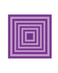 Gemini Elements Die - Stitch Edge Square