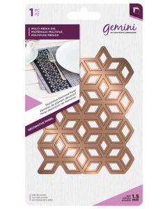Gemini Multi Media Metal Die - Decorative Diamond Panel