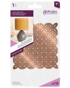 Gemini Multi Media Metal Die - Decorative Petal Panel