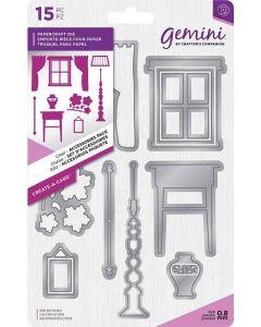 Gemini Create-a-Card Dimensionals Metal Die - Chair Accessories Pack
