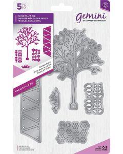 Gemini Create-a-Card Dimensionals Metal Die - Garden Party