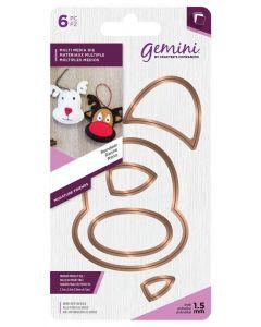 Gemini Multi Media Miniature Friends Die - Reindeer