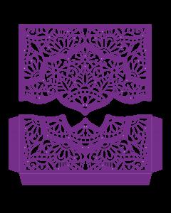 Gemini Create-a-Card Split Invitation Die - Opulent Henna
