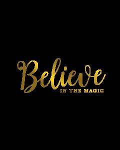 Gemini Expressions Foil Stamp Die - Believe in the Magic