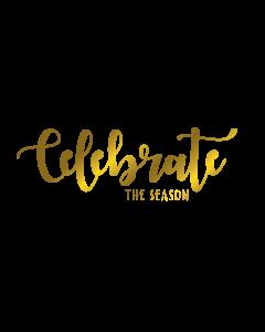 Gemini Expressions Foil Stamp Die - Celebrate the Season