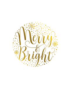 Gemini Expressions Foil Stamp Die - Merry and Bright