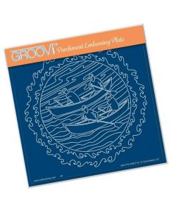 Claritystamp Rowers A5 Sq Plate