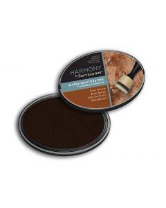 Harmony by Spectrum Noir Water Reactive Dye Inkpad - Friar Brown