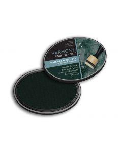 Harmony by Spectrum Noir Water Reactive Dye Inkpad - Smoke Emerald