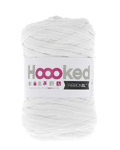 Hoooked RibbonXL Yarn - Optic White