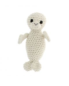 Hoooked Seal Crochet Kit Ecobarb - Almond