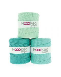 Hoooked Zpagetti Mint Shades - 1 Ball