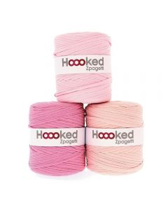 Hoooked Zpagetti Light Pink Shades - 1 Ball