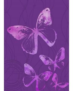 Gemini 3D Embossing Folder & Stencil - Fluttering By