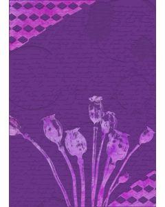 Gemini 3D Embossing Folder & Stencil - Poppy Seed Heads