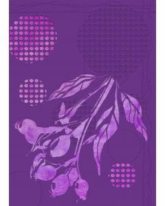 Gemini 3D Embossing Folder & Stencil - Rose Hip