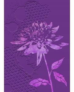 Gemini 3D Embossing Folder & Stencil - Chrysanthemum