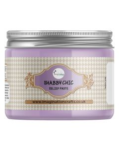 Imagination Crafts Shabby Chic Relief Paste - Lavender