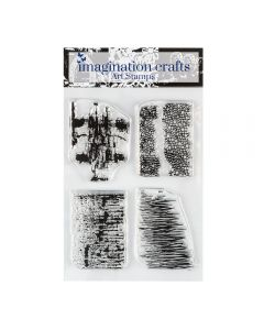 Imagination Crafts Texture Art Stamps - Reflections