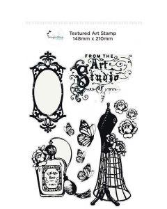 Imagination Crafts A5 Art Stamp - Vintage Chic