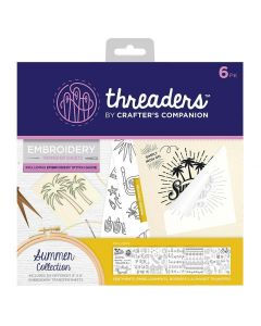 Threaders Embroidery Transfer Sheets - Summer