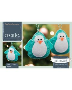 Crafter's Companion Felt Penguin Decorations Kit