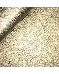 John Louden 140cms Faux Leather - Light Gold