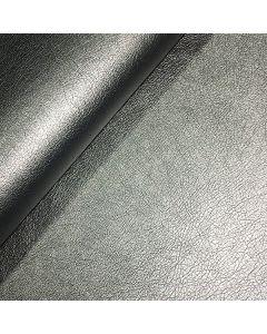 John Louden 140cms Faux Leather - Steel