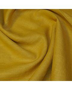 John Louden 100% Washed Linen - Gold