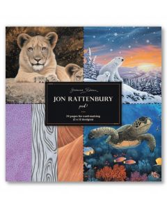 Joanna Sheen Jon Rattenbury 8 x 8 Cardmaking Collection Pad - Pad 1