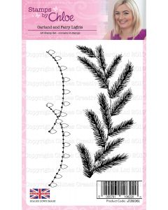 Stamps by Chloe - Christmas Garland and Fairy Lights Stamps