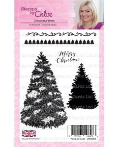 Stamps by Chloe - Christmas Trees Stamp