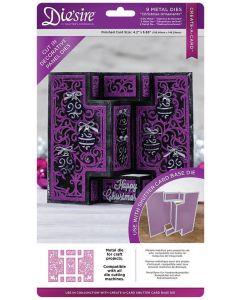 Die'sire Create-a-Card Kinetic Decorative Panels Metal Die - Christmas Ornaments