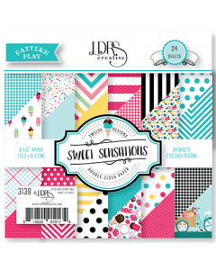 LDRS Pattern Play - Sweet Sensations 6x6 Paper Pack